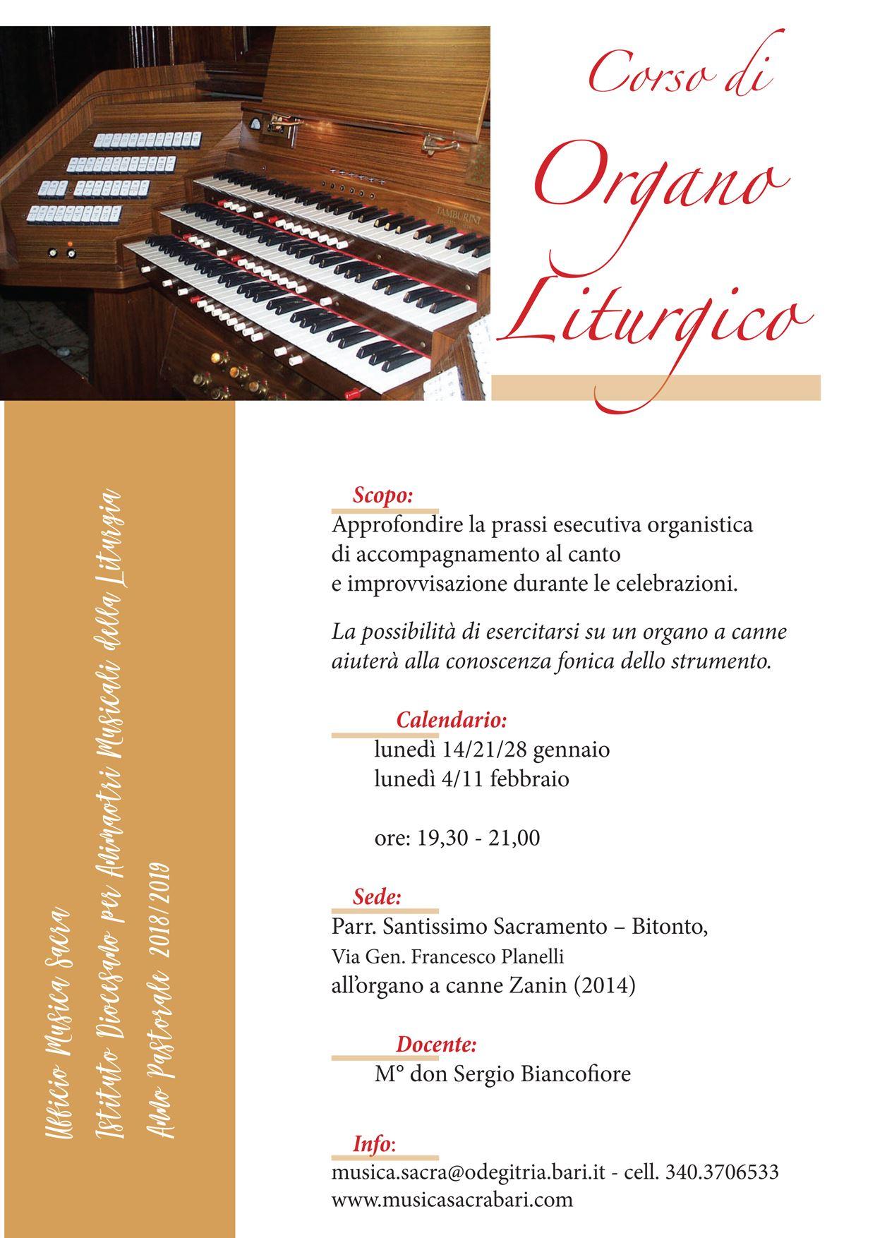 Calendario Liturgico Qumran.Dicembre 2018 Musica Sacra Bari
